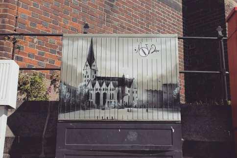 grafitti kirche